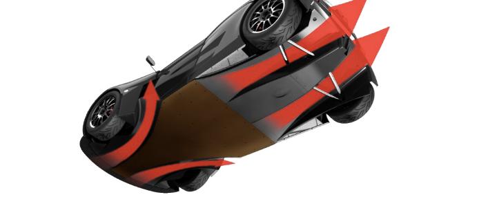 Elemental Cars get more downforce